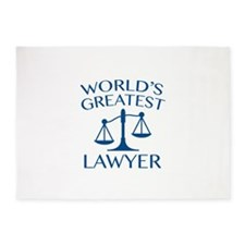 World's Greatest Lawyer 5'x7'Area Rug