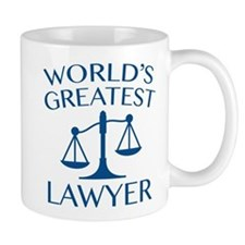 World's Greatest Lawyer Mug