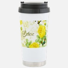 Believe - yellow roses Stainless Steel Travel Mug