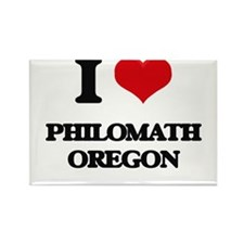 I love Philomath Oregon Magnets