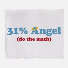 31% Angel Throw Blanket