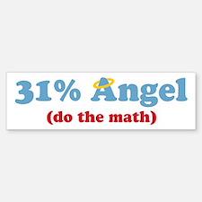 31% Angel Bumper Bumper Bumper Sticker
