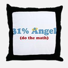 31% Angel Throw Pillow