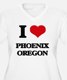 I love Phoenix Oregon Plus Size T-Shirt