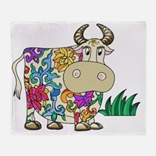 Cow Throw Blanket