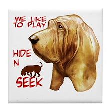 Unique Bloodhounds Tile Coaster