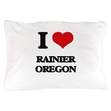 I love Rainier Oregon Pillow Case