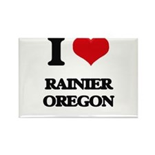 I love Rainier Oregon Magnets
