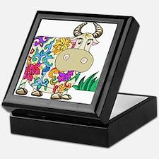 Tattooed Cow Keepsake Box