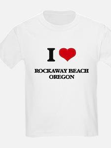 I love Rockaway Beach Oregon T-Shirt