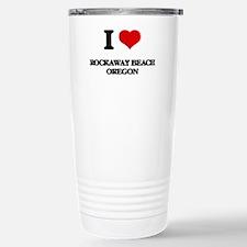 I love Rockaway Beach O Travel Mug