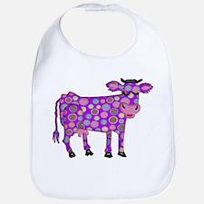 I Never Saw a Purple Cow Bib
