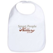 Smart People for Hillary Bib