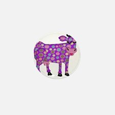 I Never Saw a Purple Cow Mini Button (100 pack)