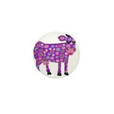 I Never Saw a Purple Cow Mini Button