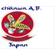 21st Troop Carrier Squadron Japan Poster