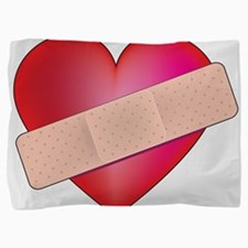 heart bandaid.png Pillow Sham