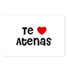 Te * Atenas Postcards (Package of 8)