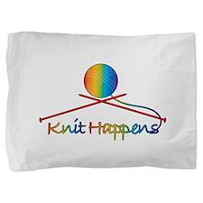knit_happens.png Pillow Sham