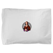 mona_knits.png Pillow Sham