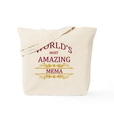 Mema Tote Bag