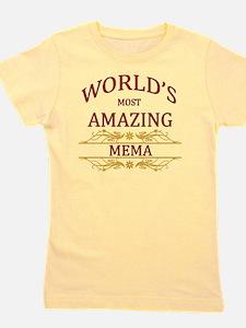 Mema Girl's Tee