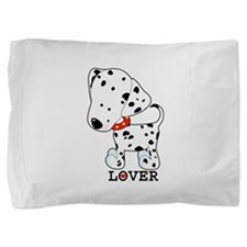 dalmation lover.jpg Pillow Sham