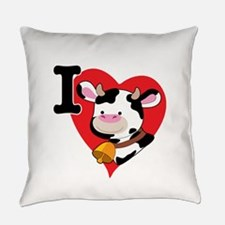 cow heart 200.png Everyday Pillow
