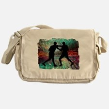 Tough & Gritty Boxing in the Ring Messenger Bag