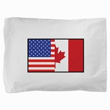 america_canada.jpg Pillow Sham