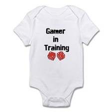Gamer In Training Infant Body Suit