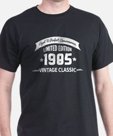 Birthday Born 1985 Aged To Perfection T-Shirt