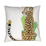 Animal Alphabet Jaguar Everyday Pillow