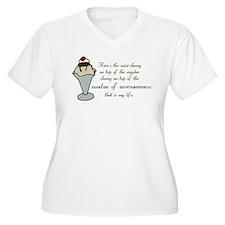 sundae Plus Size T-Shirt