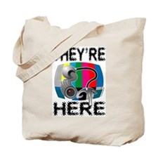 Webcam - They're Here Tote Bag