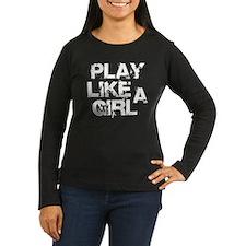 Play Like A Girl T-Shirt