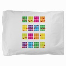 Uke Chords Colourful Pillow Sham