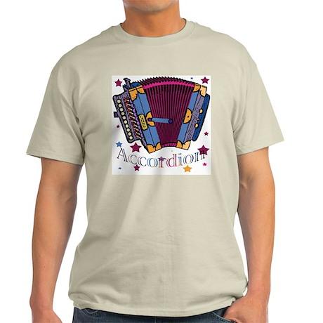 Accordion Ash Grey T-Shirt