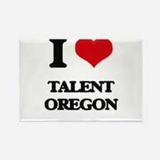 I love Talent Oregon Magnets