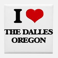 I love The Dalles Oregon Tile Coaster