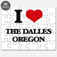I love The Dalles Oregon Puzzle