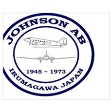 Johnson Air Base Japan Poster