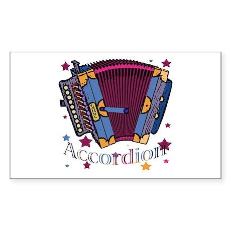 Accordion Rectangle Sticker
