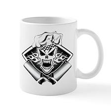 Chef Skull and Smoking Cleavers 2 Mug