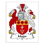 Major Family Crest Small Poster