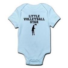 Little Volleyball Star Body Suit