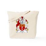 Major Family Crest Tote Bag