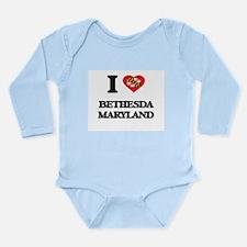 I love Bethesda Maryland Body Suit