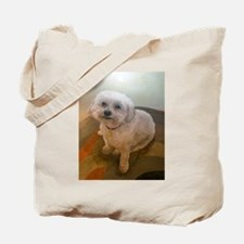 Miniature Poodle Angus Tote Bag