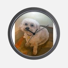 Miniature Poodle Angus Wall Clock